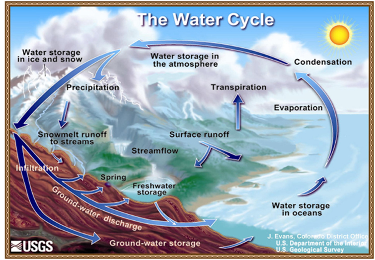 Diagram of the water cycle ncpedia ccuart Gallery
