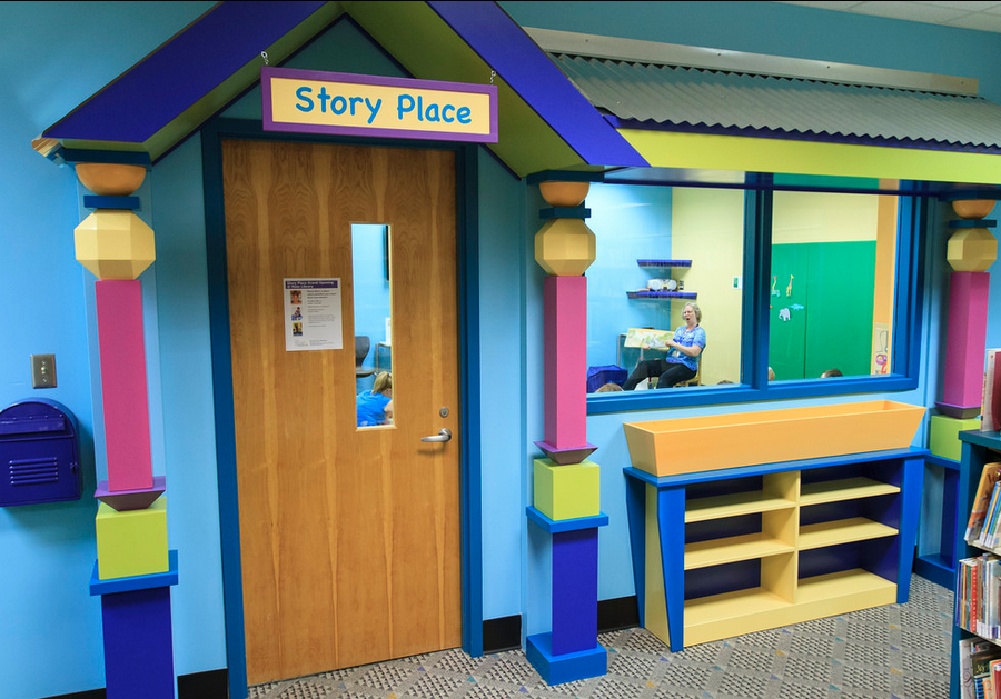 Entrance to Story Place