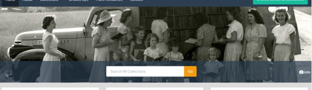 Check out our redesigned digital collections website!