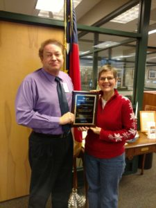 Louanne and Joel Presentation Plaque