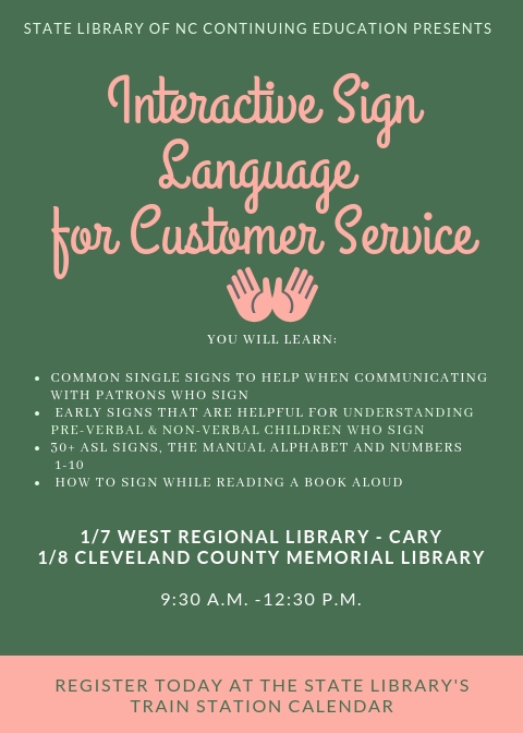 Interactive Sign Language for Customer Service - Library Development